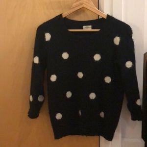 Black and white Madewell sweater